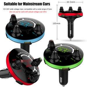Image 3 - JINSERTA Mini Bluetooth Lettore MP3 Power ON/OFF di Controllo Modulatore FM Supporto Handsfree U Disco Carta di TF AUX Giocare auto del Giocatore di Musica