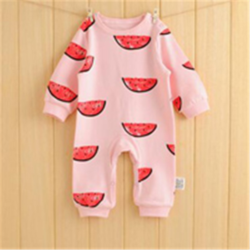 4e382a67426d Baby Rompers Spring Autumn Cartoon Baby Clothes Cotton Long Sleeve Kids  Jumpsuits Boys Girls Rompers Outfits Baby Girls Clothes-in Rompers from  Mother ...