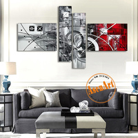 100 Hand Painted Oil Painting Modern Abstract Canvas Painting Frameless Wall Art Picture For Living Room