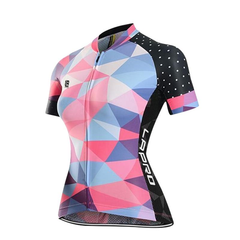 Цена за 2017 Лето Ропа Ciclismo Гонки MTB Женщины Велосипед Велоспорт Майки Майо Велосипед Одежда Велоспорт Clothing Равномерное Езда Износ