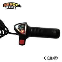 Twist Throttle Accelerator Grip Electric Scooter Throttle Reversing Handle Ebike Handlebar Grip Electric Bike Shifter Handle