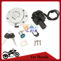 Motorcycle Ignition Switch Fuel Gas Cap Tank Cover Seat Lock Key Set for Honda CBR600 F2 1991-1994 CBR600 F3 1995-1998 New
