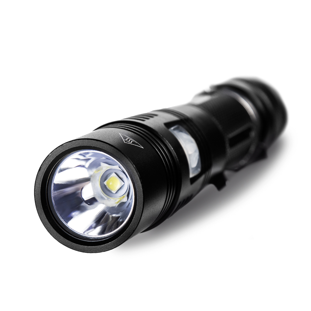 SP30A Kit Rechargeable USB font b LED b font font b Flashlight b font 18650 High