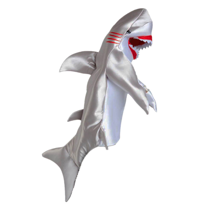 Great Terror White Shark Sea Animal Themed Party Fancy Dress Halloween Costume Kids And Adult Size Available