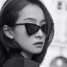Fashion Classic Personality triangle cat eye sunglasses Vintage Sun glasses cute Cat Sunglasses Men Women Street cool