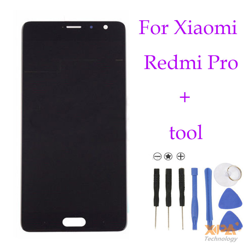 ФОТО High quality For Xiaomi Redmi Pro LCD Display+Touch Screen Glass Panel Accessories Phone Replacement free shipping