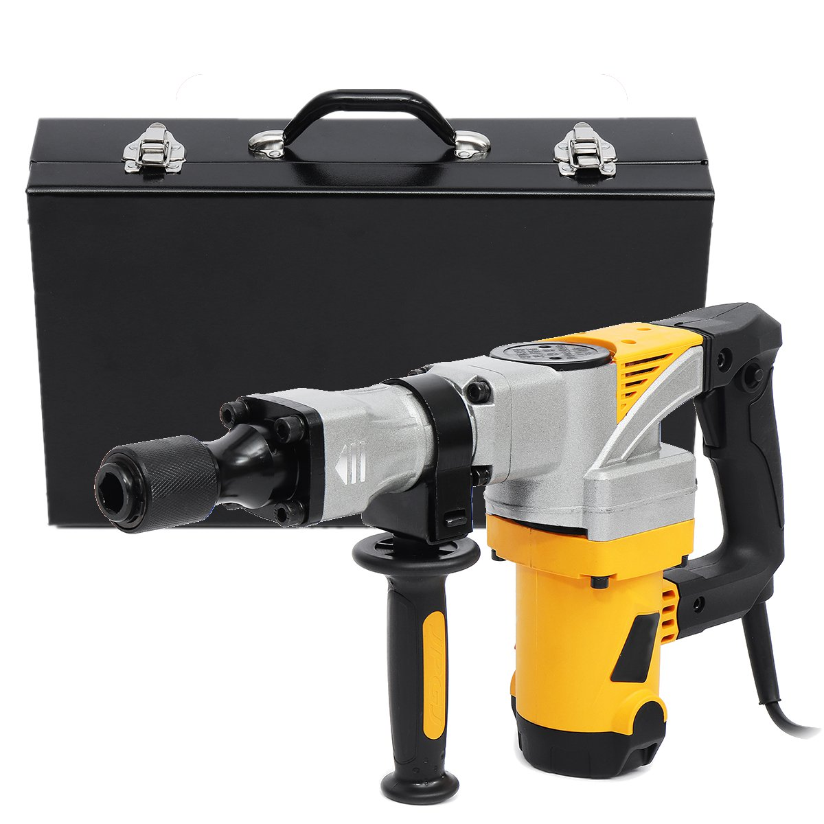 Professional Electric Demolition Hammer 2300W 220V Impact Concrete Drill Breaker Slotting Machine Industrial Power Tools