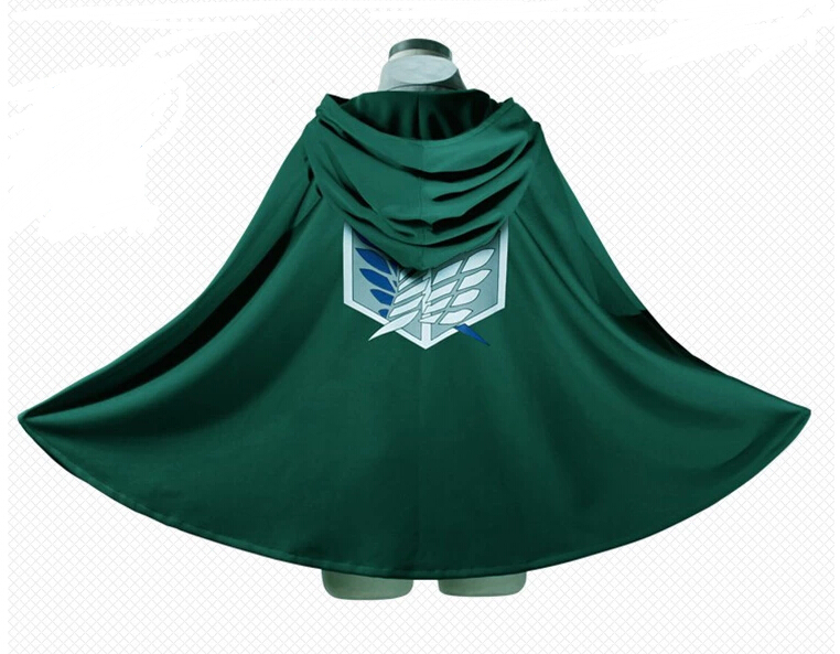 Attack on Titan Corps investigation cloak cape coat Wings of Liberty