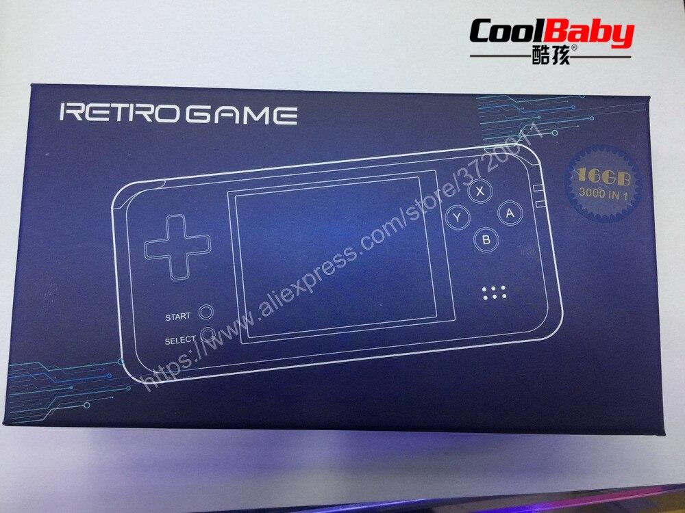 Dhl Rs-97 Retro Handheld Spielkonsole Tragbare Mini Video Gaming Spieler 16 Gb Mp4 Mp5 Wiedergabe Built-in3000 Gameschildhood Geschenke Portable Spielkonsolen Unterhaltungselektronik