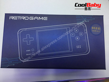 DHL RS-97 RETRO Handheld Game Console Portable Mini Video Gaming Players 16GB MP4 MP5 Playback Built-in3000 gamesChildhood Gifts