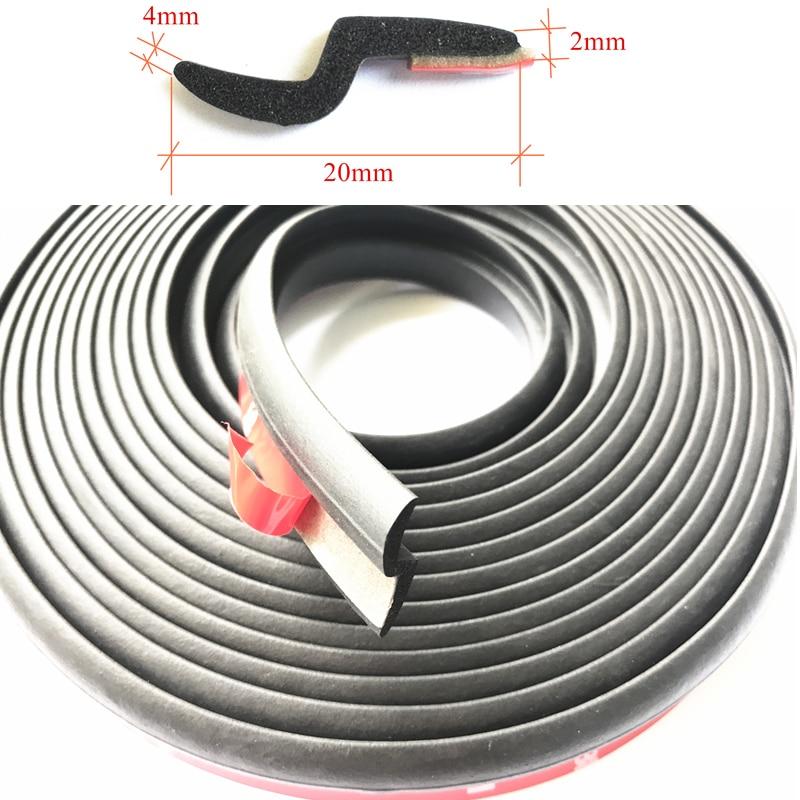 Z-Typ Auto-Auto-Gummidichtung Schalldämmung Autotürdichtung - Auto-Innenausstattung und Zubehör