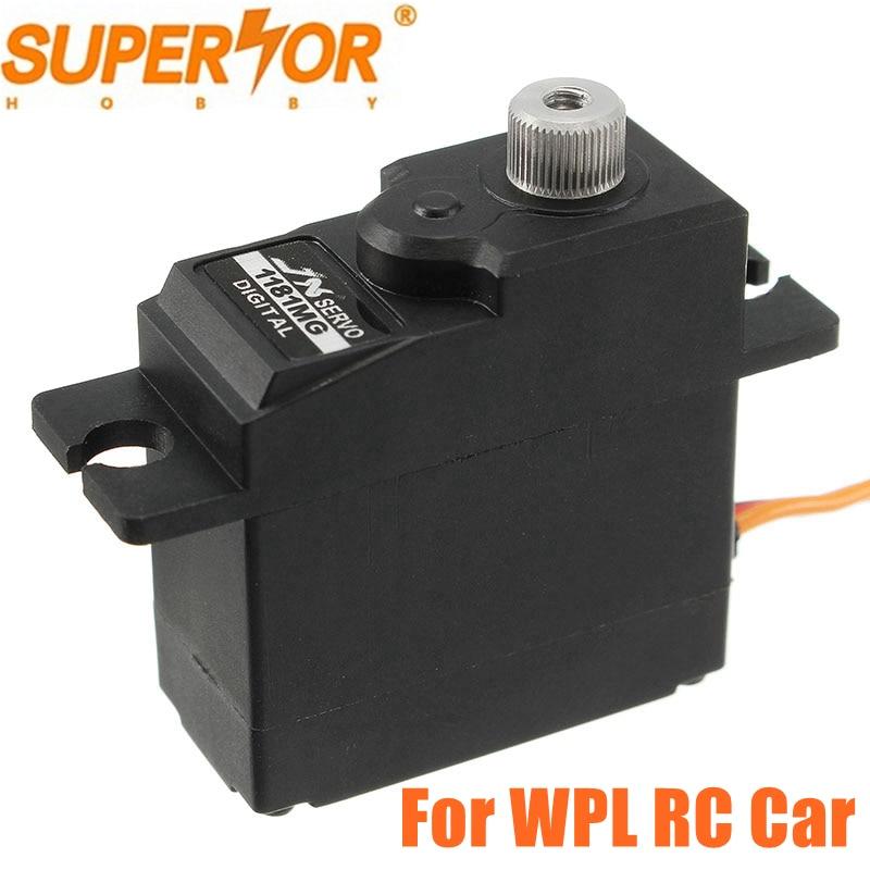JX PDI-1181MG 18g 3.5KG Metal Gear digital Core servo for WPL RC Car B16 B24 C14 C24