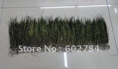 En gros 1 mètre naturel de queue de paon plume garniture paon herl longueur env 15 cm Livraison Gratuite
