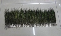 Wholesale 1 meter natural Peacock tail peacock feather trim peacock herl length aprox 15cm Free Shipping