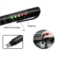Mini Brake Fluid Tester Electronic Pen 5 Led Car Liquid Diagnostic Tools Detector Auto Vechicle Testing
