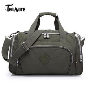 7e454ccb91 TEGAOTE Travel Bags Women Luggage Duffle Bag Handbags