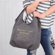 High Quality Canvas Casual Handbag