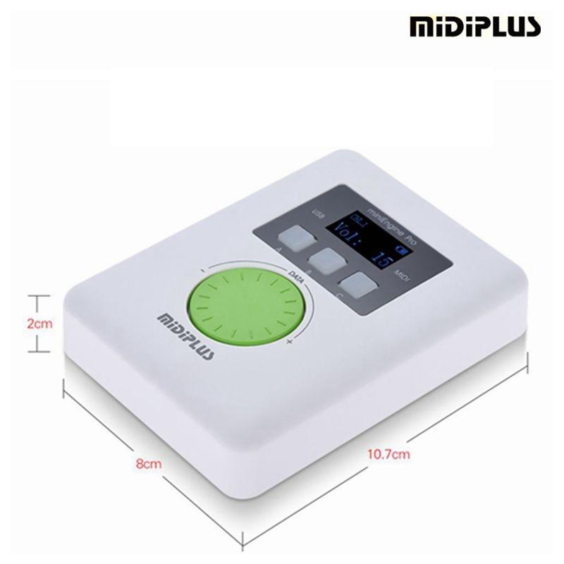 midiplus mini engine pro series portable midi sound generator midi interface portable midi. Black Bedroom Furniture Sets. Home Design Ideas