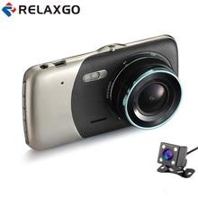 Big sale Relaxgo Mini Car Camera Video Recorder Full HD 1080P Car DVR 2 Camera Parking Dash Cam WDR Night Vision Car Camcorder BlackBox