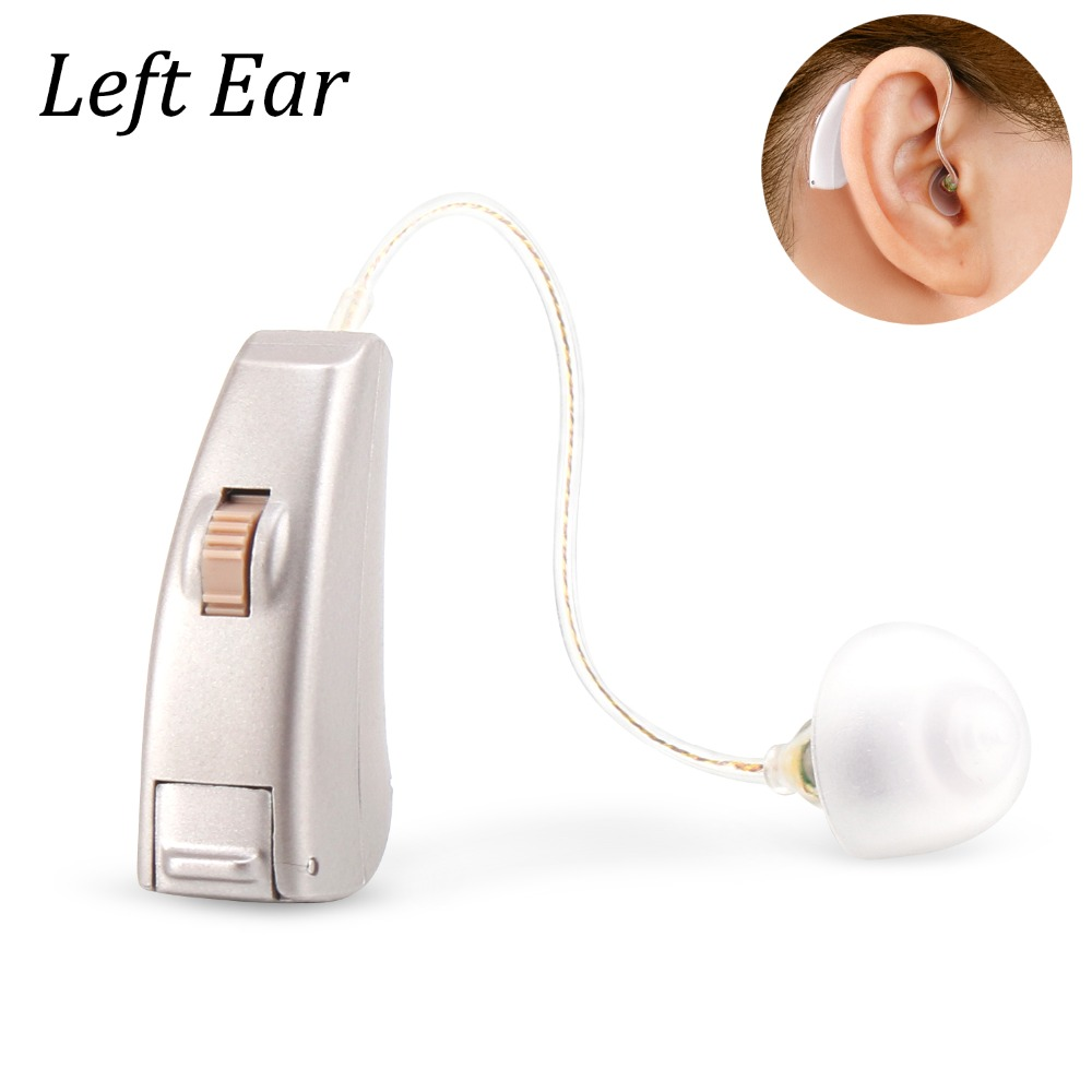 206 Ric Hearing Aid New Hearing Amplifiers RIC Sound Processing Adjustable Volume Smart Noise Cancelling Hearing