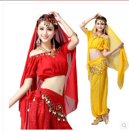 Women Halloween Cosplay Party Wedding Belly Dancer Aladdin Princess Jasmine Costume Adults(only top+pants) figurine