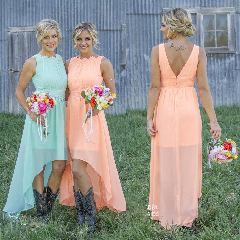 Online Get Cheap Coral Bridesmaid Dresses under 100 -Aliexpress ...