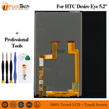 цена на 5.2 Touch Screen Digitizer Sensor Glass + LCD Display Monitor Screen Panel Module Assembly For HTC Desire Eye M910 M910x M910n