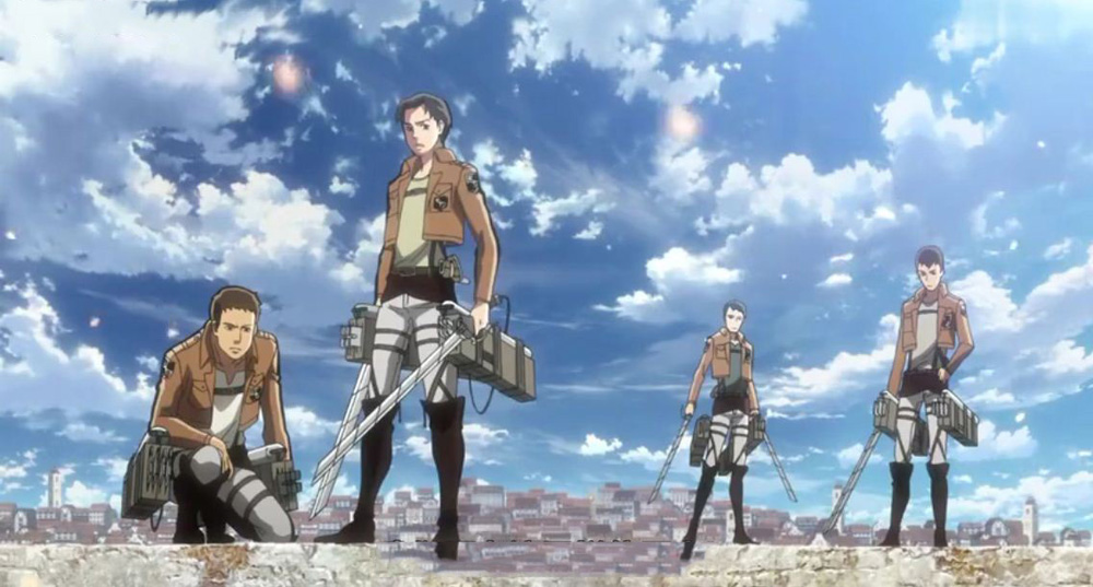 Attack on Titan boots5