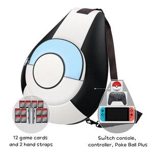Image 3 - 닌텐도 스위치 콘솔 컨트롤러에 대 한 OIVO 스토리지 가방 방수 부드러운 PU 가죽 배낭 ns에 대 한 큰 공간 Crossbody 가방