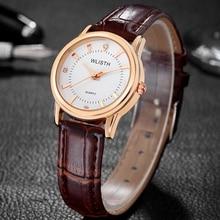 Wlisth mujeres mujer reloj de cuarzo reloj de señoras de la muñeca relojes de lujo famosos muchachas de la marca de reloj de cuarzo relogio feminino montre femme