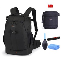 Lowepro Flipside 400 AW gift 9x9cm lens bag Cleaning kit Digital SLR Camera Photo Bag Backpacks ALL Weather Cover