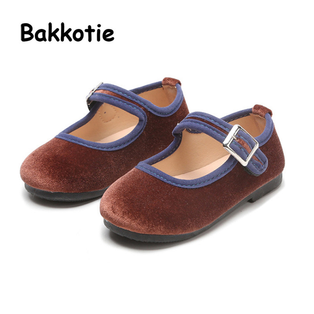 Bakkotie 2018 Spring New Fashion Baby Girl Pu Leather Shoe Toddler Black  Flat Moccasins for Children 2877cb0fac3d