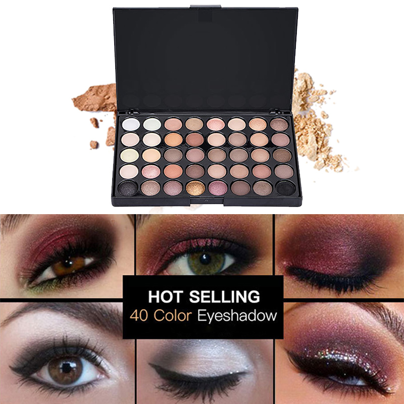 Beauty Essentials Cosmetic Matte Eyeshadow Cream Eye Shadow Makeup Cosmetic Pressed Glitter Palette Eyeshadow Palette Sombras Maquillaje #3 Less Expensive Eye Shadow