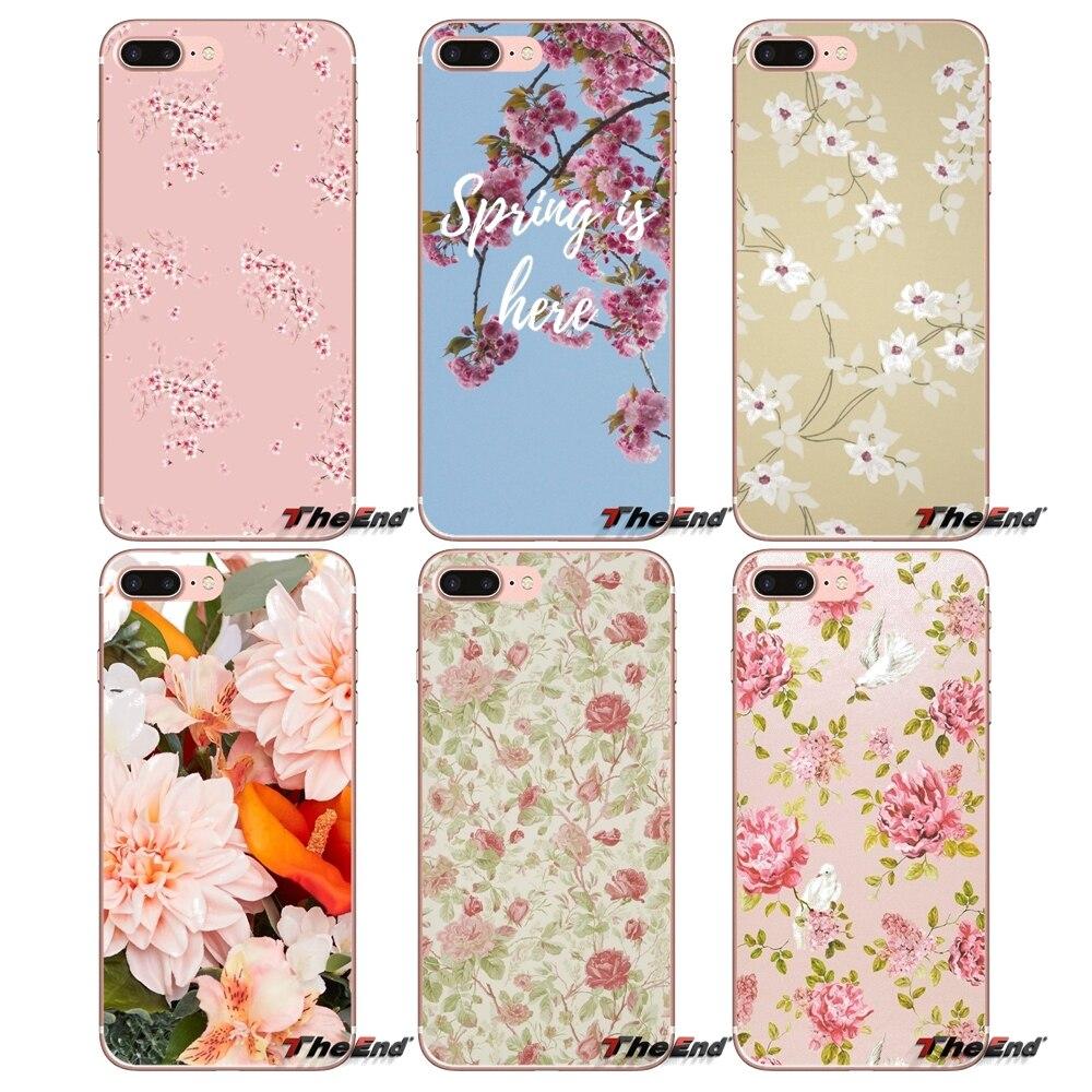 US $0 99 |For Xiaomi Redmi 4 3 3S Pro Mi3 Mi4 Mi4i Mi4C Mi5 Mi5S Mi Max  Note 2 3 4 Cover Coque Luxury Elegant Peach blossom Pattern Case-in
