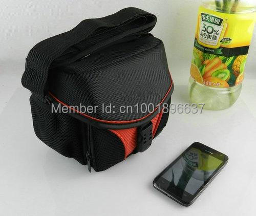 Red Photograph Pocket DSLR SLR Camera Bag Case For NIKON CANON SONY FUJI OLYMPUS SAMSUNG LEICA