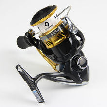 100% Original Shimano SAHARA 2500HGS C3000HG Spinning Fishing Reel 4+1BB powerful spinning reel Hagane Gear Saltwater Fish Wheel