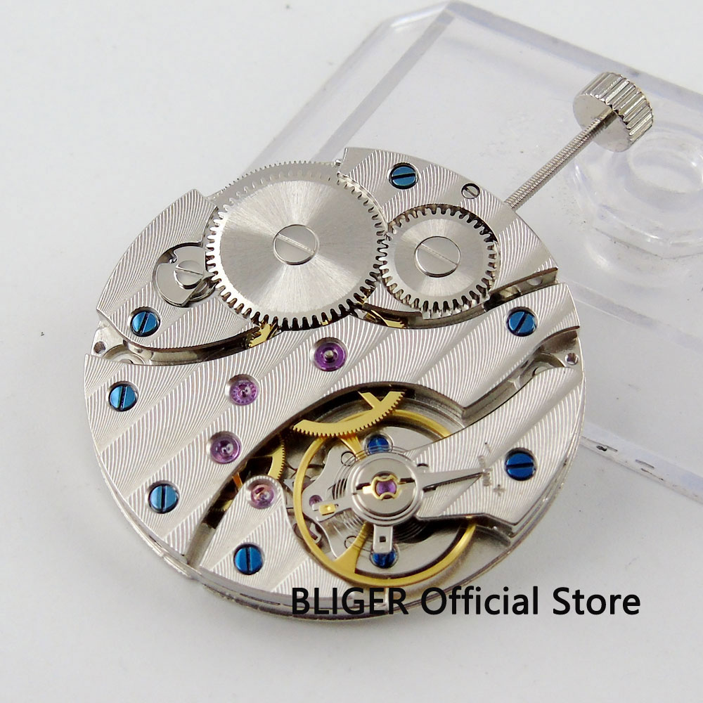 Vintage 17 Jewels watch movement fit men's watch 6497 ST3600 Hand-Winding movement BM12 цена и фото