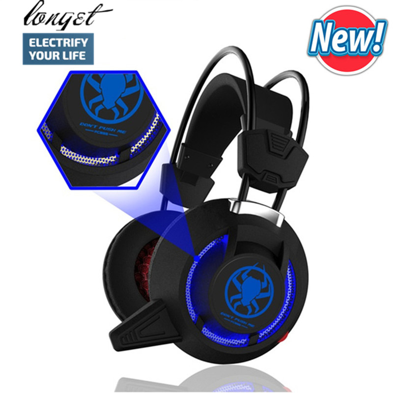 Gaming Headphone Usb Led Light For Computer For Internet Bar for Video Game Over Ear Headset Wired Headphone with Mic 2.2m Cable each g8200 gaming headphone 7 1 surround usb vibration game headset headband earphone with mic led light for fone pc gamer ps4