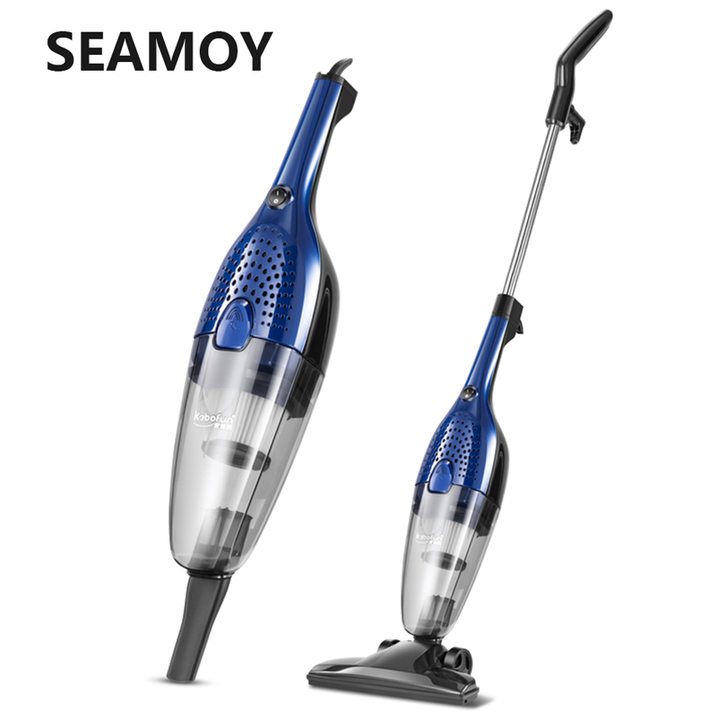 Seamoy Handheld Cordless Vacuum Cleaner Protable Wireless Cyclone Filter Strong Suction Carpet Dust Collector for Home Car