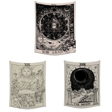 Divination Star Tapestry Home Fabric Hanging Indian Traditional Cotton Bohemian Background Cloth