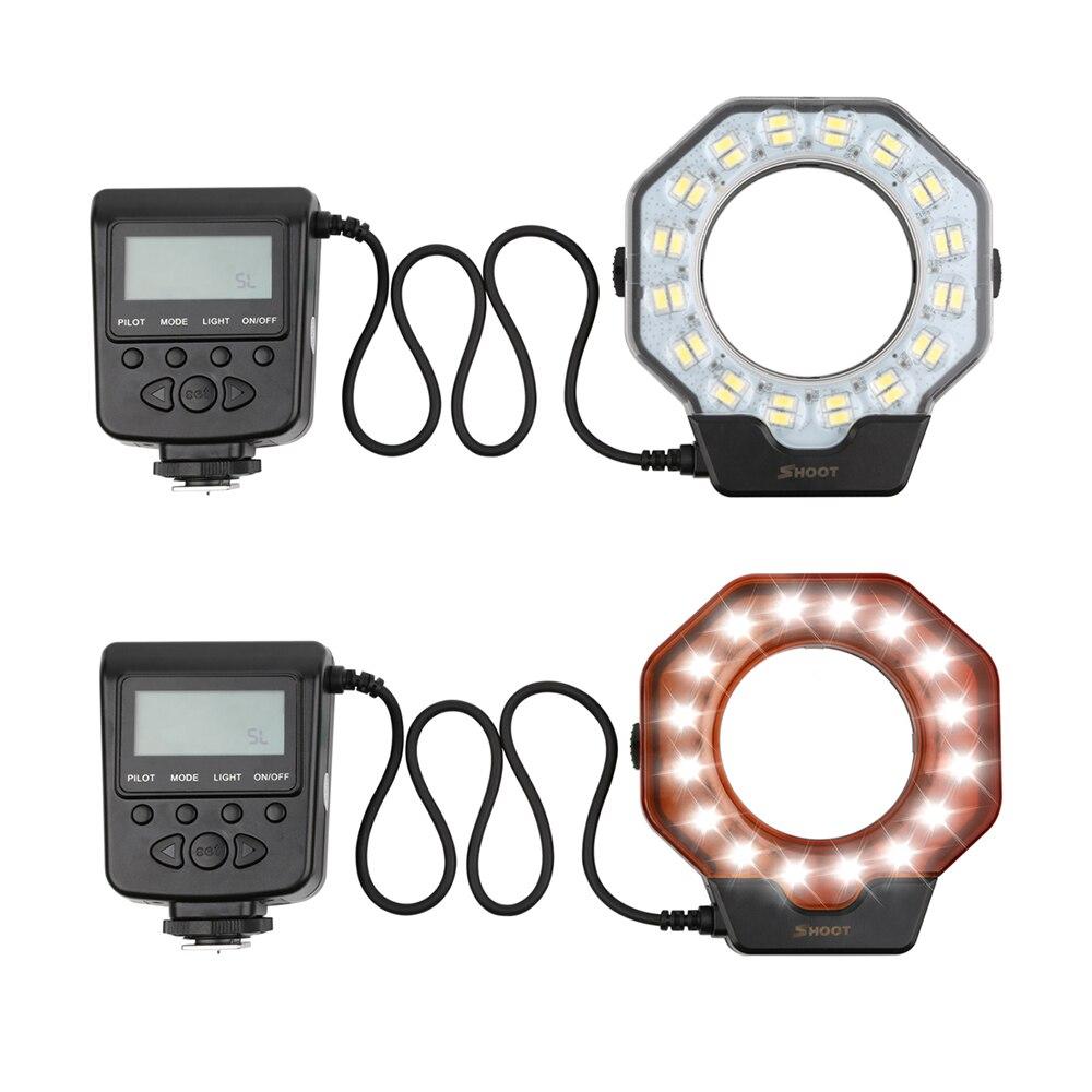 Disparo para la cámara digital La luz de flash del anillo macro para - Cámara y foto - foto 2
