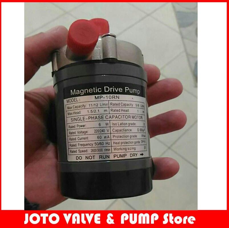 Heat resistance 120 C. Connection 14mm 220v/240v 50hz/60hz Magnetic Drive Pump MP-10RN