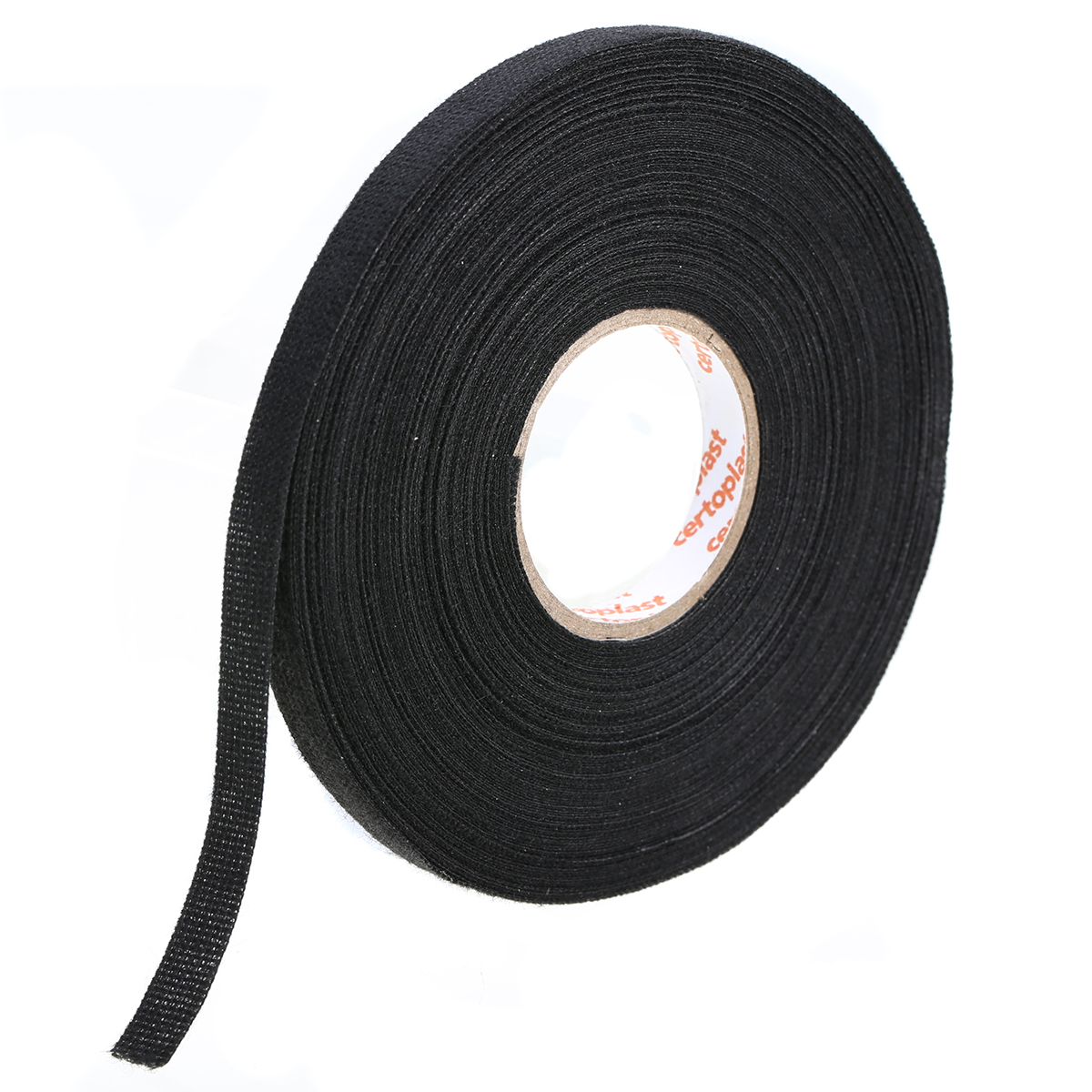 1pc Looms Wiring Harness Adhesive Tapes Black Cloth Fabric Tape Durable  Cable Protection Accessories for Cars