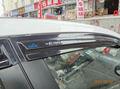 Janela de ventilação viseira para honda 9 th civic 2012 2013 2014 mugen estilo de alta qualidade preto