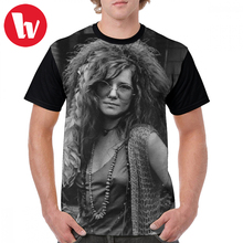 Janis Joplin T Shirt Janis Joplin T-Shirt Male Short Sleeves Graphic Tee Shirt Plus size Printed Polyester Casual Awesome Tshirt s joplin the cascades