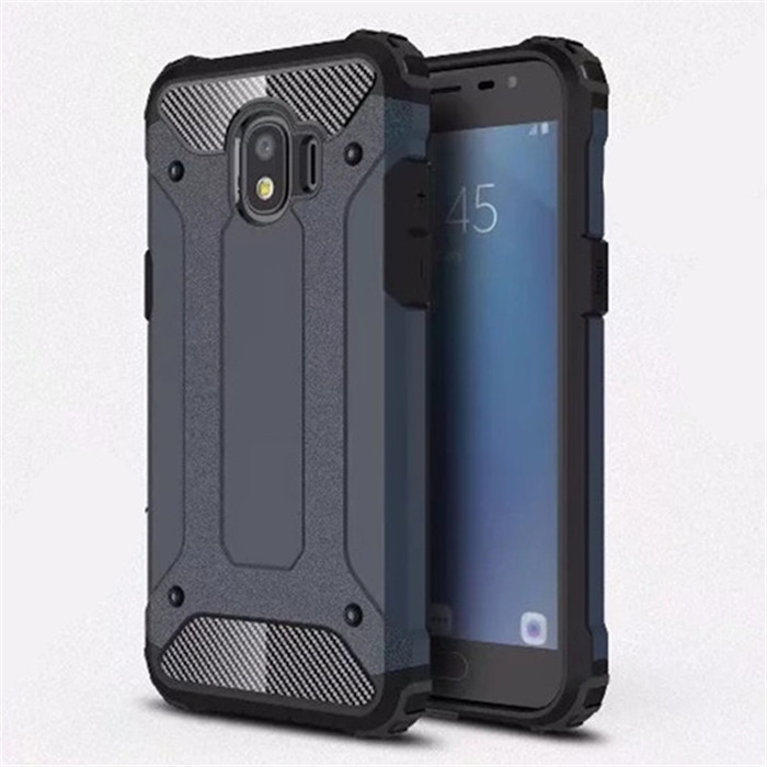 For Samsung Galaxy J2 Pro 2018 case Hybrid Armor Rubber PC Gel TPU Protective Case for J2Pro 2018 Shockproof silicone Back Cover Mitsubishi Pajero