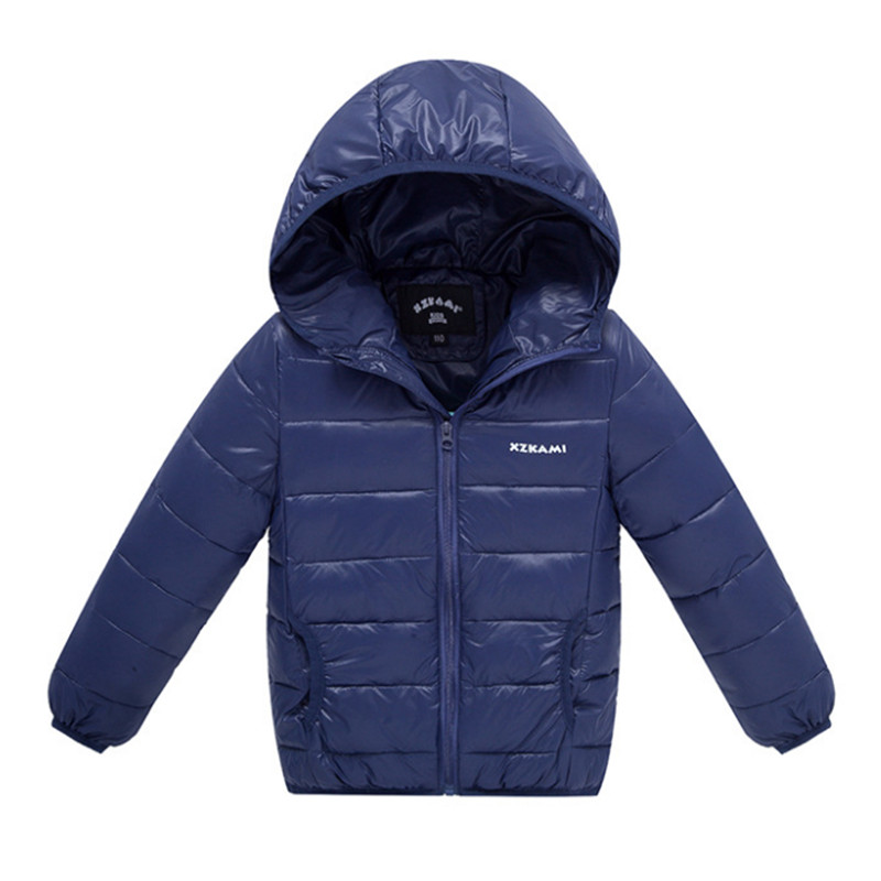 купить 2018 Spring Autumn Winter Down Jacket For Girls And Boys Coat Fashion Hooded Zipper Thin and Light Coat For Girl 11 Colors по цене 1562.58 рублей