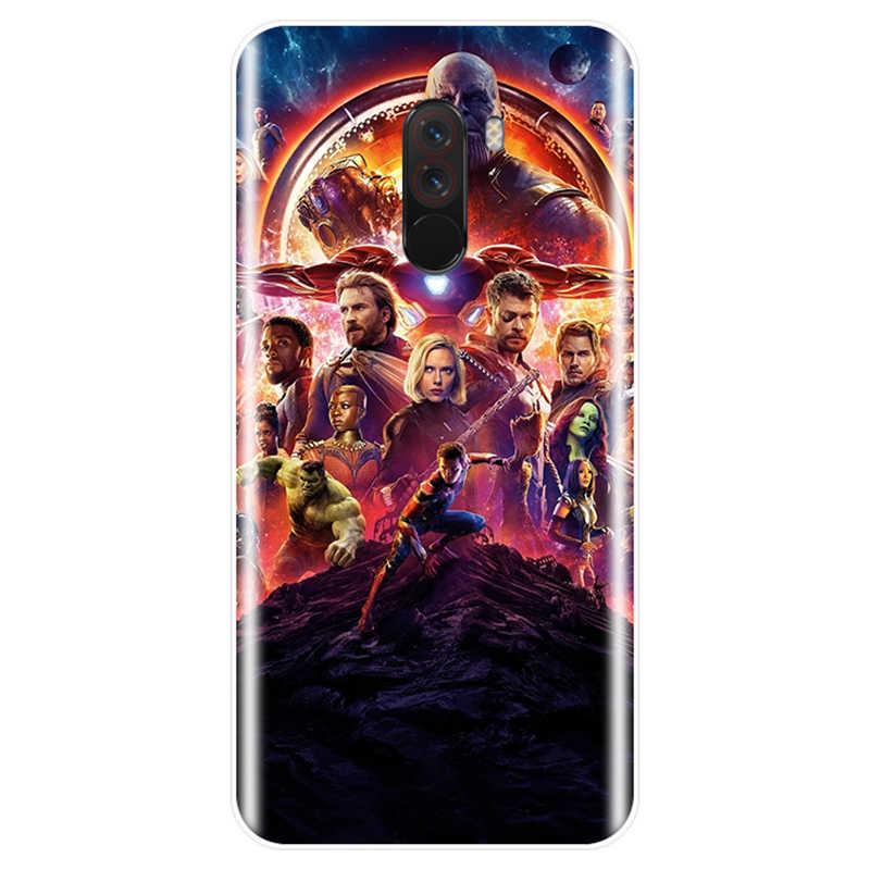 С изображением героев фильма Марвел Мстители крышка чехол для телефона из ТПУ с принтом случай для redmi Примечание 4, 5, 6, 7, обратите внимание на 4X 5A 6 для redmi 4 4A 4X 5A 5 PLUS 6 S pro 7