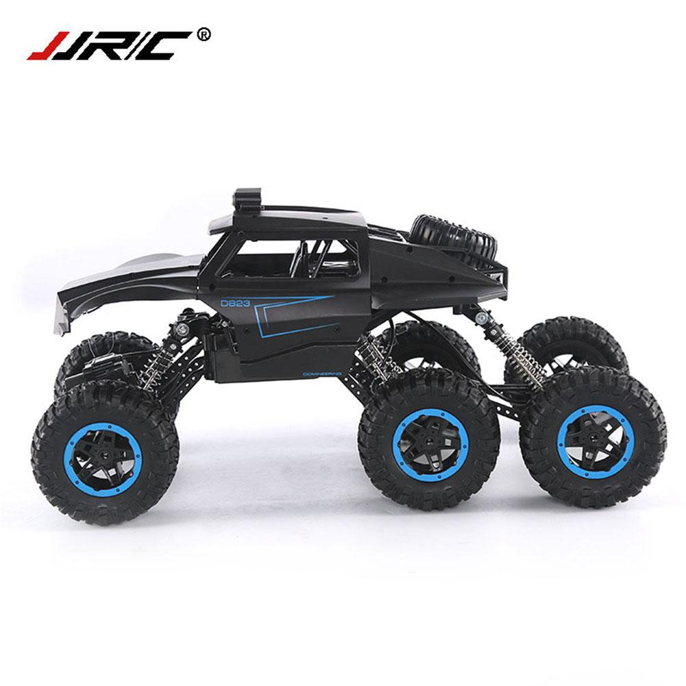 JJRC Q51 MAX 1/12 2.4G 6WD Off Road Buggy Crawler RC Car Monster With Powerful Steering System And Durable Tires 2x Battery
