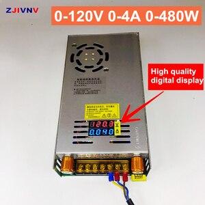 Image 3 - 480W cyfrowy wyświetlacz przełączanie zasilania regulowane napięcie ograniczenie prądu 0 5v 12v 24V 36V 48V 60v 80V 120v 220 v, 24v 20A